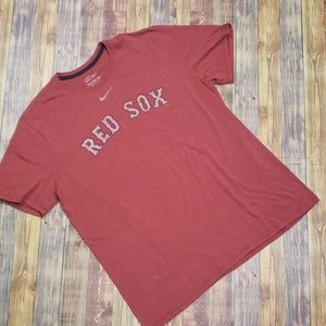 NIKE RED SOX TEE SIZE 2XL
